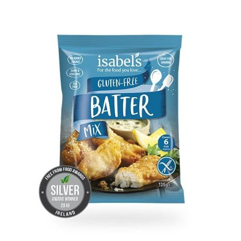 Isabel's Batter Mix 125G